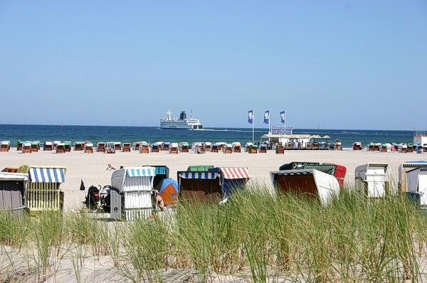 Badetag in Warnemünde